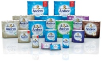 Skymark Developed a New Packaging Format for Its Range of Andrex Toilet Tissue