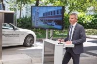 BMW and Total Open a Hydrogen Station Armed with a First-of-Its-Kind Refueling System