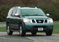 The Nissan Armada Were Big, Brash, Powerful, Oddly Styled, and Rather Long in The Tooth