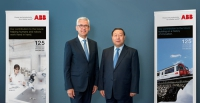 GEIDCO Chairman Liu Zhenya Met with ABB CEO and WBCSD President