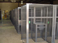 27 SOW Needed Special Military Storage Lockers for The Servicemen's Flight Gear