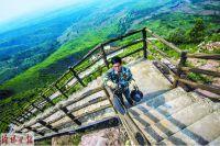 Landscape on Wan'an Mountain in Luoyang