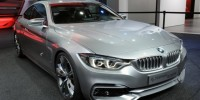 The BMW 4 Series Coupe Concept Has Been Unveiled in The Flesh for The First Time