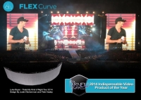 The Flexcurve LED Panels Have Been Used in Designs for Multiple Tours