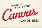 Lands' End Has Told a New Look Logo and Viewpoint for The Company's Canvas Lands' End Line