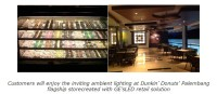 GE Team Will Fit Out369 Light Points at Dunkin' Donuts'Flagship Store