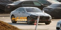 Mercedes-Benz S-Class Coupe has been snapped exclusively for the first time