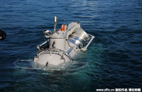 Sightseeing Submersible Put Into Trial Operation in Sanya