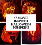47 Awesome Movie Pumpkin Decor And Carving Ideas