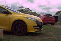 Opel Astra Opc Versus Is The Example of Challenger Attacking, Champion Defending