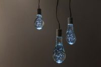 Koichi Suzuno and Shinya Kamuro of Torafu Architects Created Water Balloon LED Light Bulbs