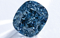 "Sotheby's to Auction The 12-Carat ""Blue Moon"""