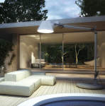 Outdoor Lighting Provides Light for Safe Walking in Evening,Enhance Natural Beauty at Home