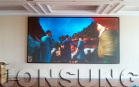 P5 HD LED Display Is Installed in The Banquet Hall of Putaoyuan Hotel in Chizhou City