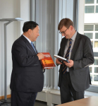Liu Zhenya Visits Helmholtz Association, TUB, Fraunhofer IPK