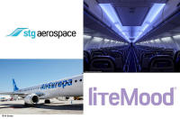 Air Europa Becomes Latest Airline to Select Stg Aerospace Cabin LED Lighting