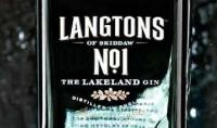 Langston's Gin Bottl Is Designed by West Yorkshire to Capture Look of Lake District