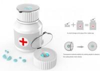 A Convenient Segmentation Pill Bottle to Solve The Problem of Pill Certain Extent