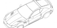 A New Front-engined Ferrari Coupe Appears to Be in The Works with Patent Images