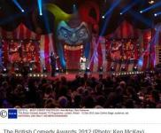 PRG Supplies The British Comedy Awards Performers and Producers Across The UK Television