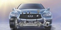 The Infiniti Q50's World-First Steer-by-Wire System Was Detailed