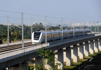 World's First High-Speed Railway Around Island Put to Use