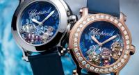Mirrors of The Deep Blue Sea in Chopard Happy Fish Luxury Watches