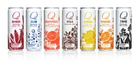 Rexam Provides Its 12oz Sleek Cans for Sodas and Carbonated Mixers of The Q Drinks