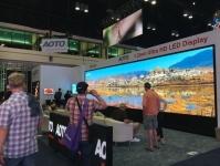 Aoto Shows 8k 24 Bit Panoramic LED Display at Infocomm 2015 at Orlando