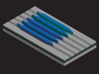 UCSB-LED Team Reports First Quantum Cascade Laser on Silicon