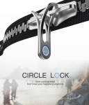 Fingerprint Anti-Theft Zipper: Circle Lock