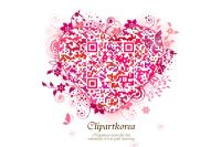 Heart-Shaped QR Code – Show Your Love Words