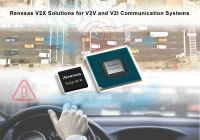 Renesas V2X Solutions to Help Accelerate Arrival of Autonomous Driving