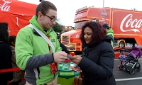 Coca-Cola Christmas Truck Tour Highlights Recycling