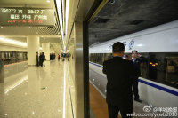 Jumbo Train Station Put Into Operation in South China
