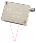 Laser Sensor in Stainless Steel Case for Food Process Industry IP69k