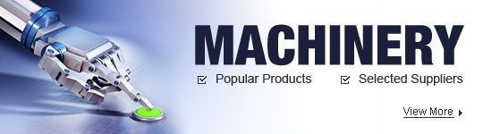 Machinery on Popular Products Fairs