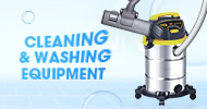 Washing & Cleaning Equipment