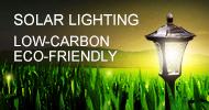 Solar Lighting - Low-carbon, Eco-friendly