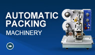 Automatic packing machinery make packing efficient!
