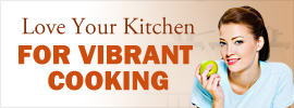 Love Your Kitchen, for Vibrant Cooking