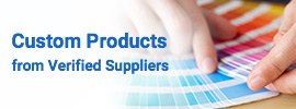Custom Products from Verified Suppliers