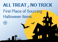 First Place of Sourcing Halloween Items