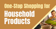 one-stop shopping for Household products