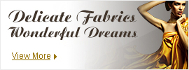 Wonderful Dreams of Delicate Fabric