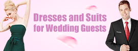 Dresses and Suits for Wedding Guests