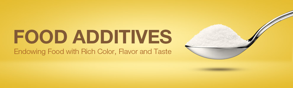food additives Everyone knows to keep an eye out for calories, fat, and carbs when they're browsing the supermarket aisles but are you paying attention to the little-known, flavor-enhancing, often lab-generated chemicals that manufacturers pump into food to cut costs and keep you hooked just because it isn't.