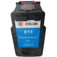 Cartucho de tinta colorido compatível com 811 para Canon Cl811 diretamente vendido da China