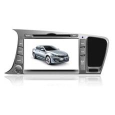 800 * 480pixes 8 pouces spéciale DVD de voiture avec GPS pour KIA K5 / KIA Optima 2011