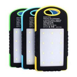 Высокая емкость безопасные портативные и реальных 5000Мач солнечного зарядного устройства специального для использования вне помещений